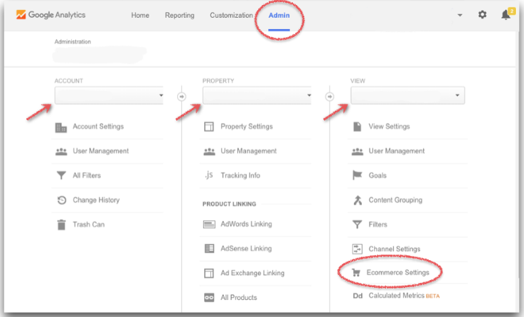 passo 1: configurar google analytics